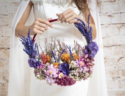 ¿Wedding hoop bouquet? Tendencias en ramos de novias