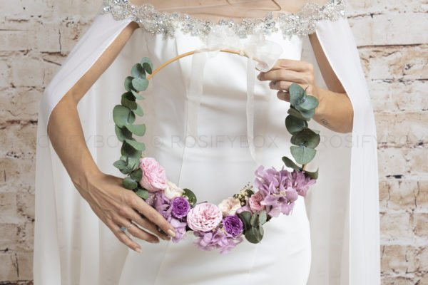 Wedding Hoop Bouquet
