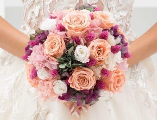 ¿Por qué elegir un ramo de novia preservado?